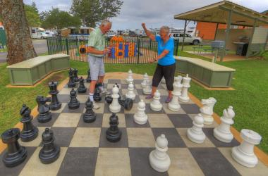Image of Giant Chess Board