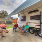 Powered Van Site BIG4 Batemans Bay Easts Riverside