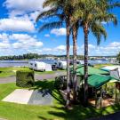 Batemans Bay Easts Waterfront Van Site BB 871 Pano